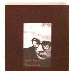 Libros: (SÁBATO, ERNESTO) MUCHNIK, MARIO - ERNESTO SÁBATO POR MARIO MUCHNIK - PRIMERA EDICIÓN. Lote 202767027