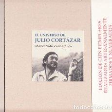 Libros: RAÚL MANRIQUE GIRÓN – CLAUDIO PÉREZ MÍGUEZ - EL UNIVERSO DE JULIO CORTÁZAR. UN RECORRIDO ICONOGRÁFIC. Lote 202905051
