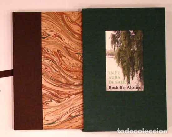 Libros: (Saer, Juan José) Alonso, Rodolfo - En el aura de Saer. Un homenaje - PRIMERA EDICIÓN - Foto 2 - 202905283