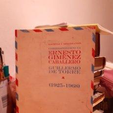 Libros: GACETAS Y MERIDIANOS. Lote 203147335