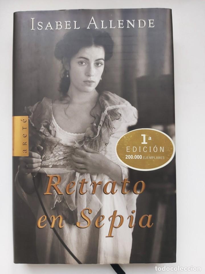 LIBRO RETRATO EN SEPIA, DE ISABEL ALLENDE (Libros Nuevos - Narrativa - Literatura Hispanoamericana)