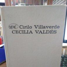 Libros: CECILIA VALDES O LA LOMA DEL ANGEL-CIRIO VILLA VERDE-EDITORIAL ARTE Y LITERATURA-LA HABANA 1977,. Lote 213073950