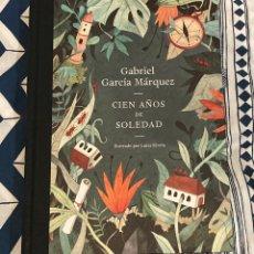 Libros: CIEN AÑOS DE SOLEDAD. EDICIÓN 50 ANIVERSARIO. ILUSTRADO POR LUISA RIVERA. Lote 213672898