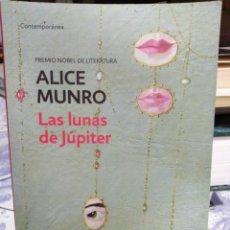 Libros: LAS LUNAS DE JUPITER-ALICE MUNRO-PREMIO NOBEL DE LITERATURA, DE BOLSILLO,. Lote 215585250