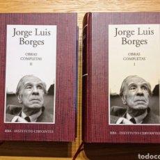 Libros: JORGE LUIS BORGES - OBRAS COMPLETAS - 2 VOLS. - RBA. Lote 216936287