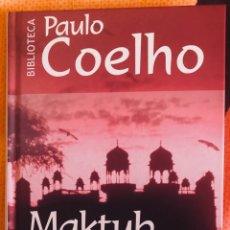 Libros: PAULO COELHO: MAKTUB. Lote 222159728