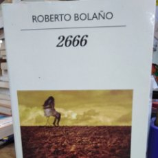 Livres: 2666-ROBERTO BOLAÑO-ANAGRAMA 2010 NARRATIVAS HISPANICAS-. Lote 223336955