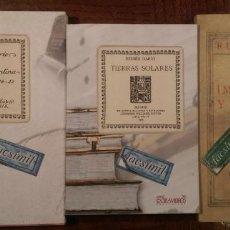 Libros: 3 LIBROS FACSÍMILES DE PRIMERAS EDICIONES DE RUBÉN DARÍO (1904, 1914 & 1925). POESÍA Y PROSA. Lote 235630780