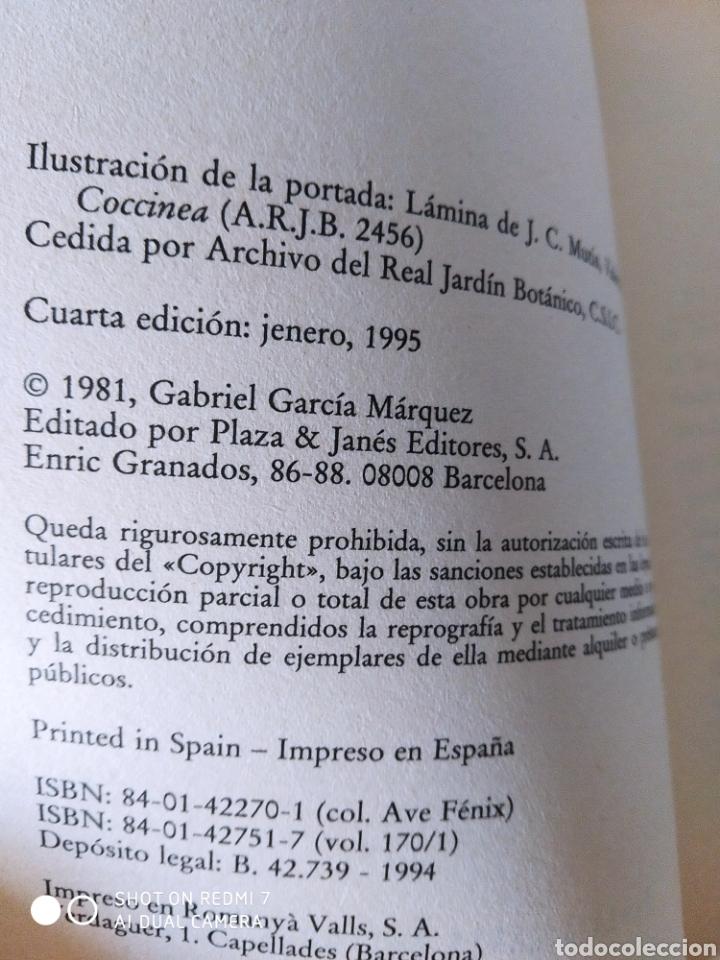 Libros: Cronica de una muerte anunciada. Gabriel Garcia Márquez. Nuevo - Foto 5 - 242959000