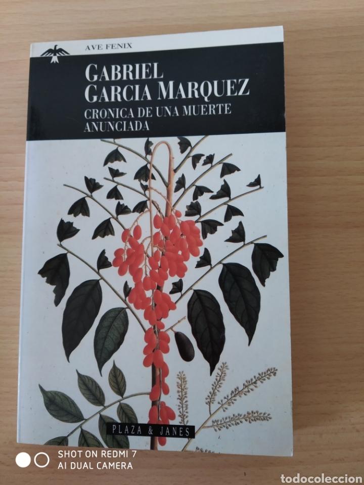 CRONICA DE UNA MUERTE ANUNCIADA. GABRIEL GARCIA MÁRQUEZ. NUEVO (Libros Nuevos - Narrativa - Literatura Hispanoamericana)
