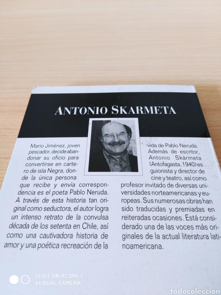 Libros: El cartero de Neruda. Antonio Skarmeta. Nuevo - Foto 3 - 243123165