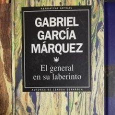 Libros: EL GENERAL EN SU LABERINTO (GABRIEL Gª MÁRQUEZ). Lote 253866900