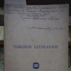 Libros: ALFONSO FERRER JESUS.ESBOZOS LITERARIOS. Lote 258935635