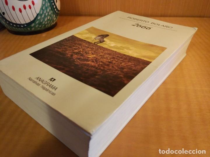 Libros: 2666. Roberto Bolaño - Foto 2 - 261615665