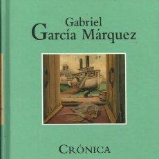 Libros: CRÓNICA DE UNA MUERTE ANUNCIADA / GABRIEL GARCÍA MÁRQUEZ.. Lote 263004330