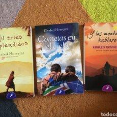 Libros: LIBROS KHALED HOSSEINI. Lote 264721369
