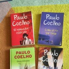 Libros: 4 LIBROS PAULO COELHO ESPAÑOL. Lote 264723339