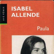 Libros: PAULA - ISABEL ALLENDE. Lote 266320418