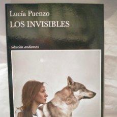 Livros: LUCIA PUENZO. LOS INVISIBLES .TUSQUETS. Lote 269978043