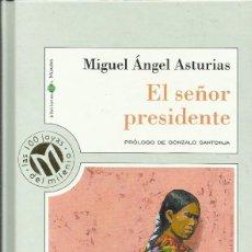 Libros: EL SEÑOR PRESIDENTE / MIGUEL ÁNGEL ASTURIAS.. Lote 275106228