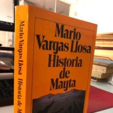 Libros: MARIA VARGAS LLOSA - HISTORIA DE MAYTA - SEIX BARRAL. Lote 277730148