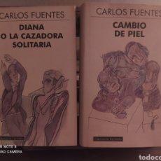 Libros: DOS LIBROS DE CARLOS FUENTES.. Lote 278230728