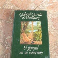 Libros: EL GENERAL EN SU LABERINTO - GABRIEL GARCÍA MÁRQUEZ. Lote 278864853