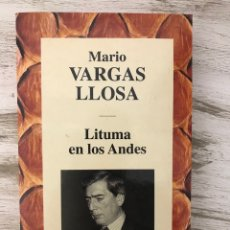 """Libros: LIBRO """"LITUMA EN LOS ANDES"""" DE MARIO VARGAS LLOSA. Lote 294970083"""