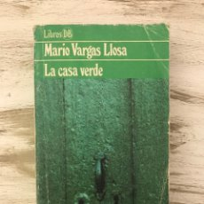 """Libros: LIBRO """"LA CASA VERDE"""" DE MARIO VARGAS LLOSA. Lote 296005763"""