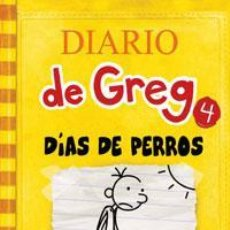 Libros: INFANTIL. JUVENIL. DIARIO DE GREG 4. DIAS DE PERROS - JEFF KINNEY (CARTONÉ). Lote 45991576