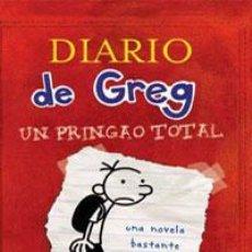 Libros: INFANTIL. JUVENIL. DIARIO DE GREG 1. UN PRINGAO TOTAL - JEFF KINNEY (CARTONÉ). Lote 45991861