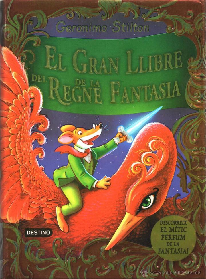 GERONIMO STILTON: EL GRAN LLIBRE DEL REGNE DE LA FANTASIA - DESTINO, ESTRELLA POLAR 2014 (NUEVO) (Libros Nuevos - Literatura Infantil y Juvenil - Literatura Infantil)