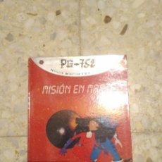 Libros: PG-752 MISION EN MARTE - JORDI SIERRA. Lote 83025968