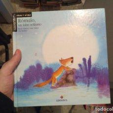 Libros: ROMULO, UN LOBO SOLITARIO. Lote 83034684