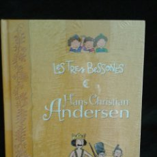 Libros: LES TRES BESSONES. HANS CHRISTIAN ANDERSEN (CUENTO + DVD CON 3 EPISODIOS) EN CATALÁN. Lote 88202676
