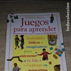 Libros: JUEGOS PARA APRENDER. Lote 91622455