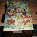 Libros: BLANCANIEVES. FORMATO GRANDE. COLECCIÓN MAGIA Y COLOR.DISNEY. 1978. EDICIONES WAVES. Lote 91720130