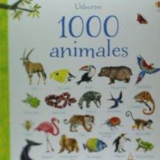 Libros: 1000 ANIMALES USBORNE. Lote 95237803