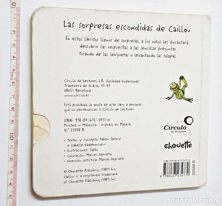 Libros: Libro Caillou Dime que falta - Foto 2 - 97980891