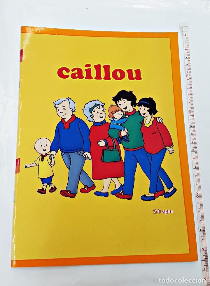 LIBRO PARA COLOREAR CAILLOU (Libros Nuevos - Literatura Infantil y Juvenil - Literatura Infantil)