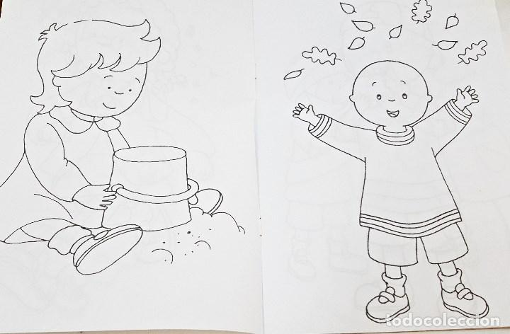 Libros: Libro para colorear Caillou - Foto 4 - 97981639