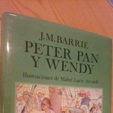 Libros: PETER PAN Y WENDY EDITORIAL JUVENTUD . Lote 98863482