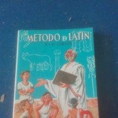 Libros: MÉTODO DE LATIN. Lote 102106211