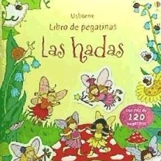 Libros: HADAS, LAS. LIBRO DE PEGATINAS USBORNE. Lote 104281927