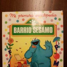 Libros: MI PRIMERA ENCICLOPEDIA BARRIO SESAMO. Lote 108835804