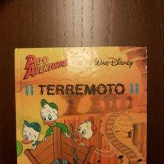 Libros: PATO AVENTURAS TERREMOTO II. Lote 108836116