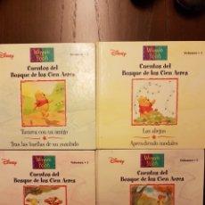 Libros: CUENTOS DEL BOSQUE DE LOS CIEN ACRES 1 2 3 5. Lote 108836562