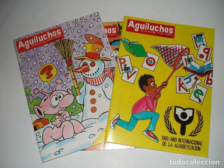 3 NUMEROS DE LA REVISTA INFANTIL AGUILUCHOS DE LOS AÑOS 90 Y 91 (Libros Nuevos - Literatura Infantil y Juvenil - Literatura Infantil)