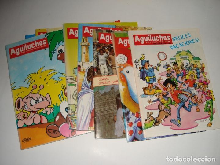 10 NUMEROS DE LA REVISTAS INFANTILES AGULUCHOS DEL AÑO 1989 (Libros Nuevos - Literatura Infantil y Juvenil - Literatura Infantil)