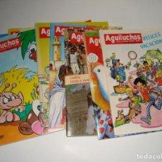 Libros: 10 NUMEROS DE LA REVISTAS INFANTILES AGULUCHOS DEL AÑO 1989. Lote 109157911